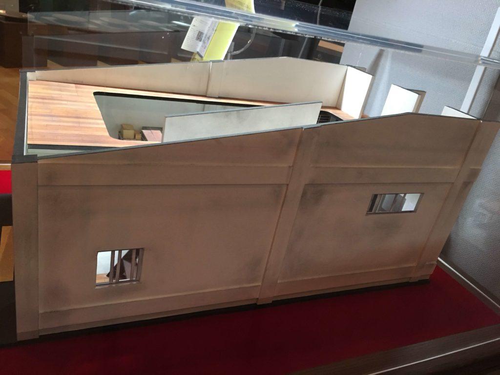 印刷博物館で体験する三日月堂の世界のジオラマ
