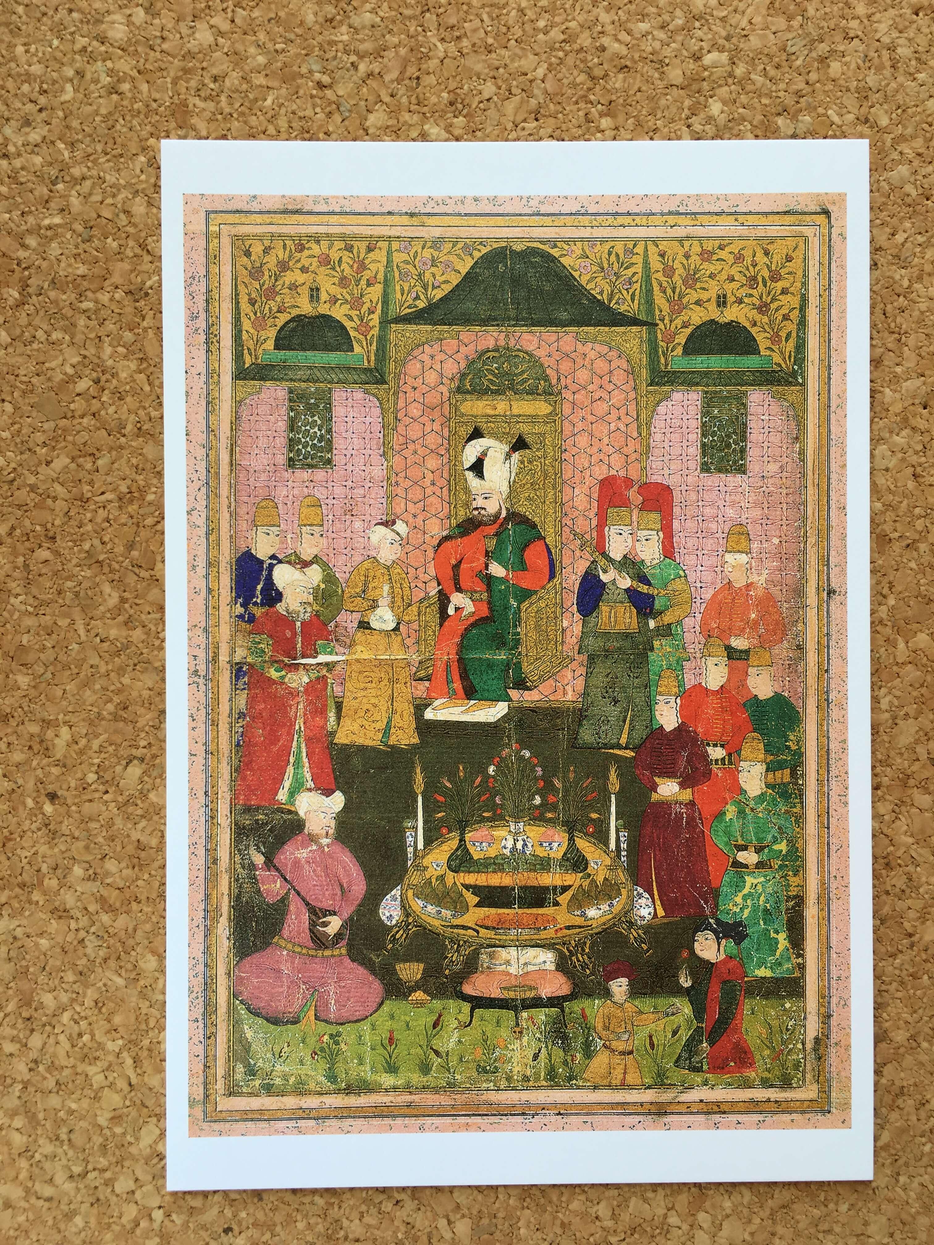 トルコ至宝展の絵はがき