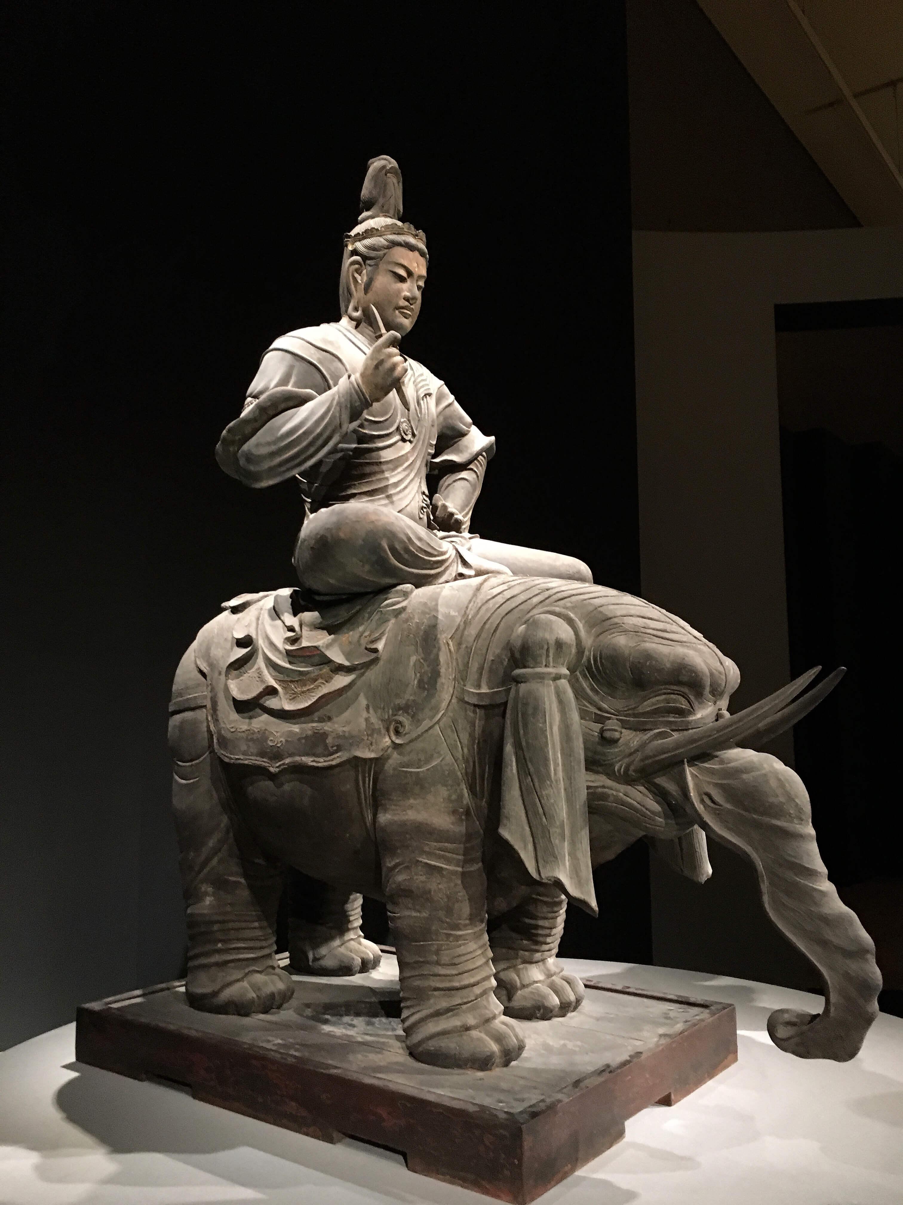 東寺 帝釈天騎象像