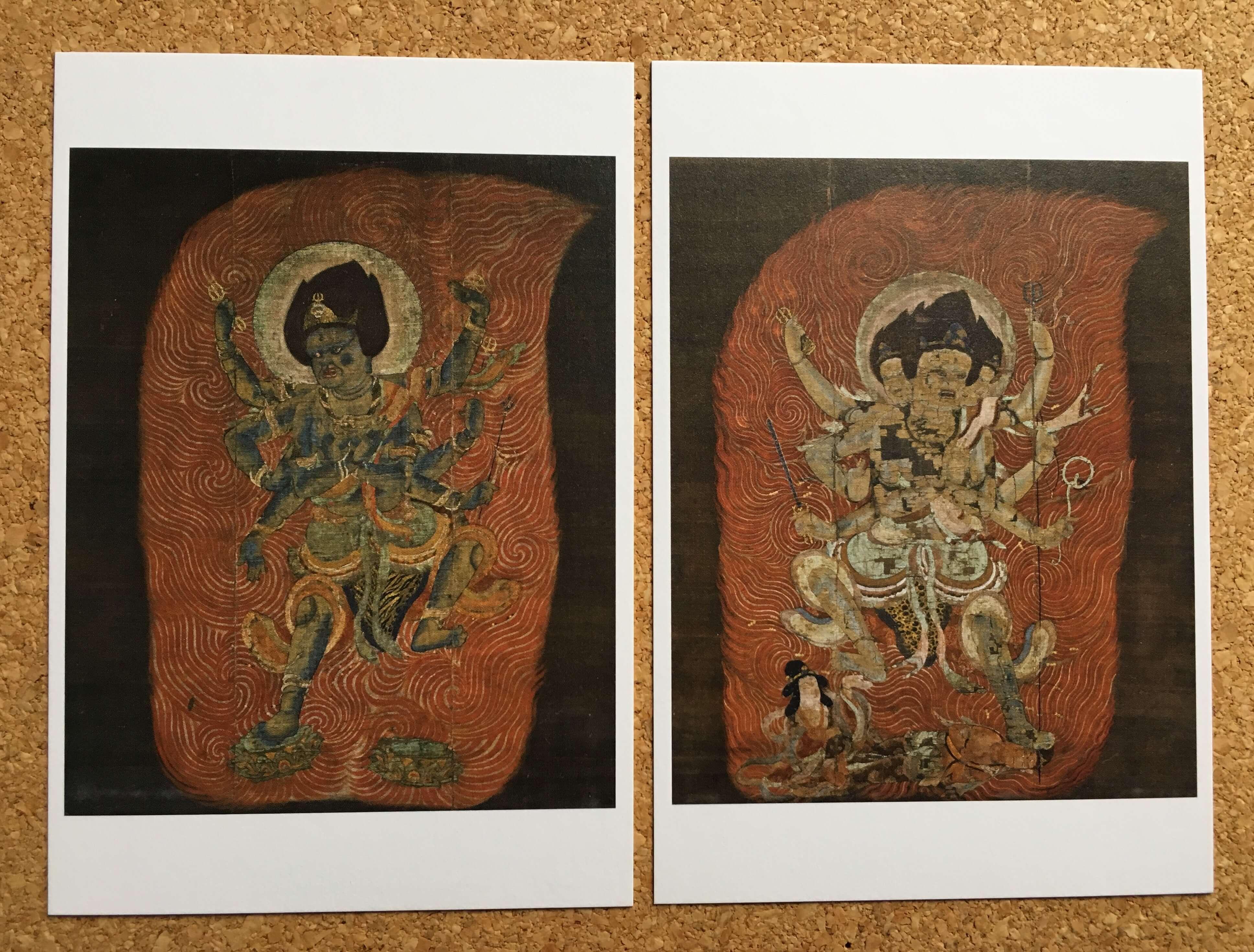 東寺展で購入した絵はがき