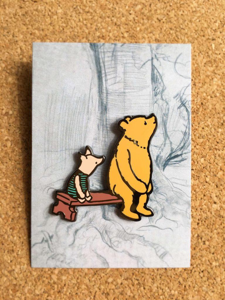 クマのプーさん展ピンバッジ