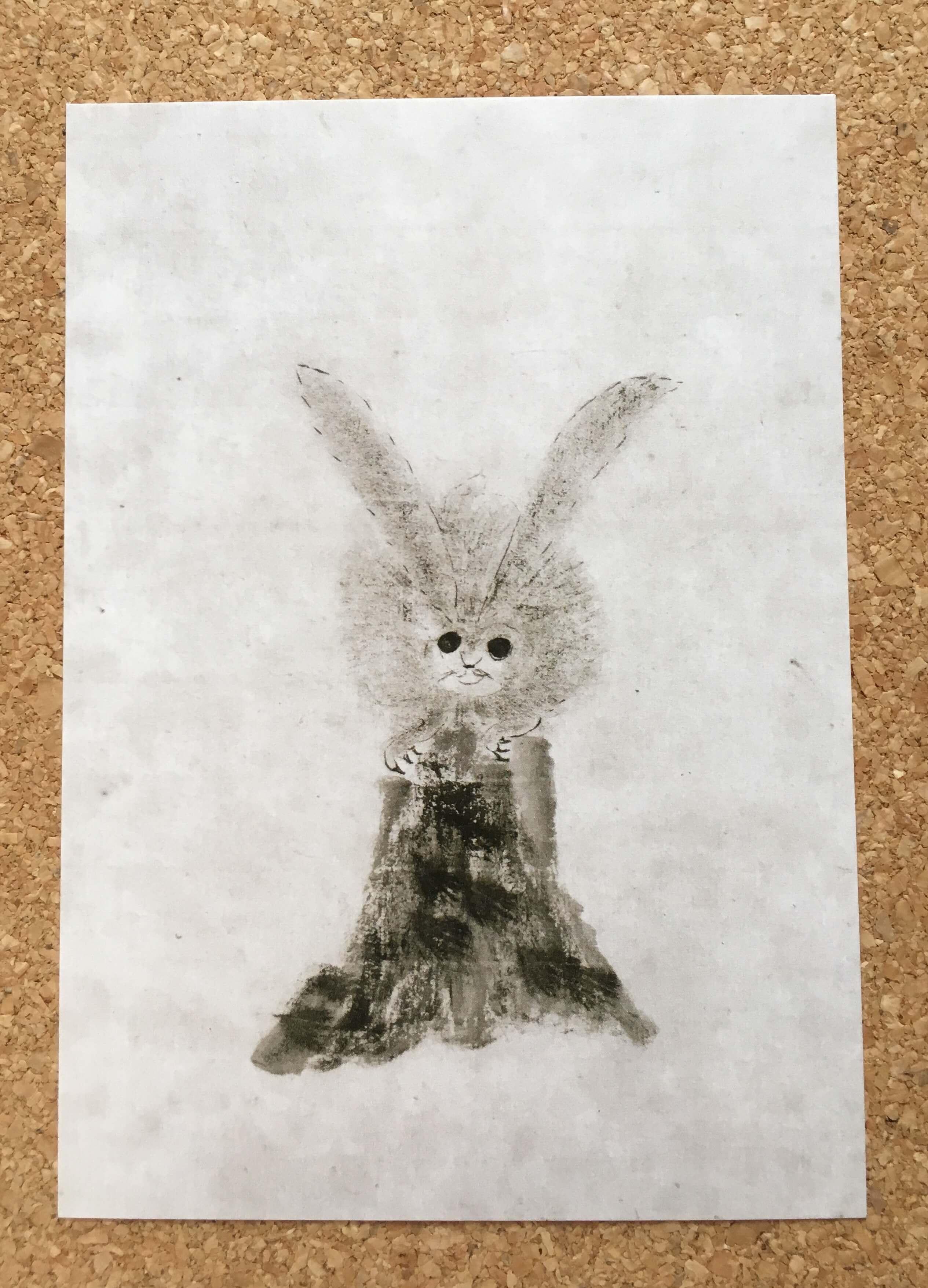 徳川家光『兎図』
