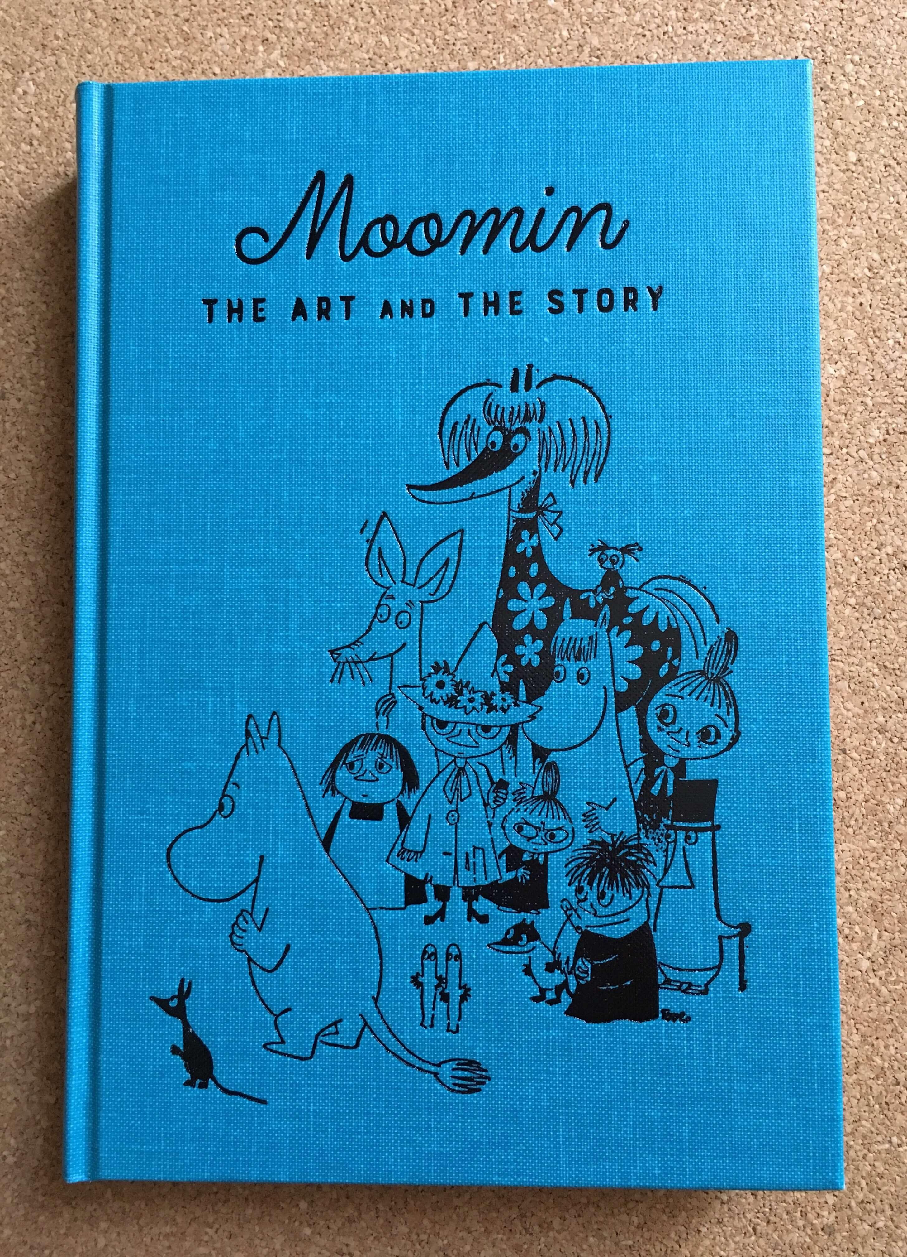 ムーミン展の図録
