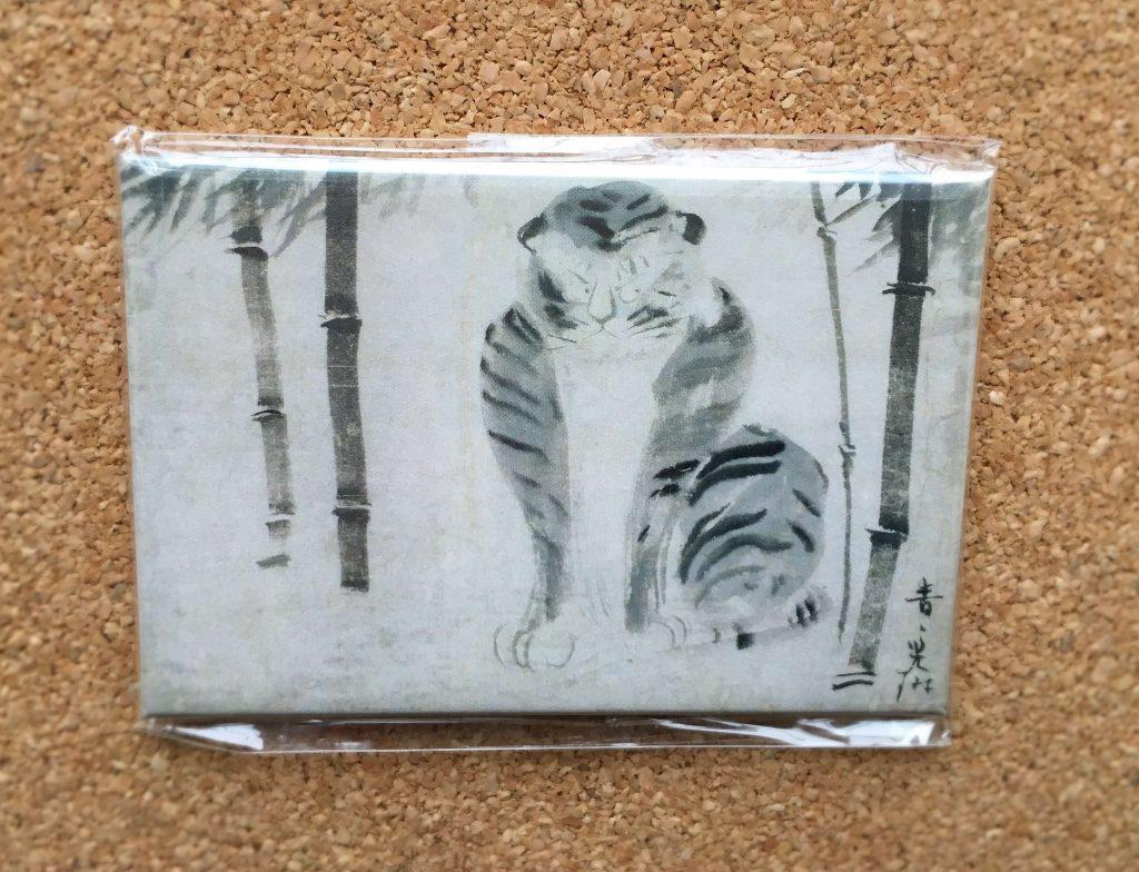 日本の素朴絵展で購入したマグネット