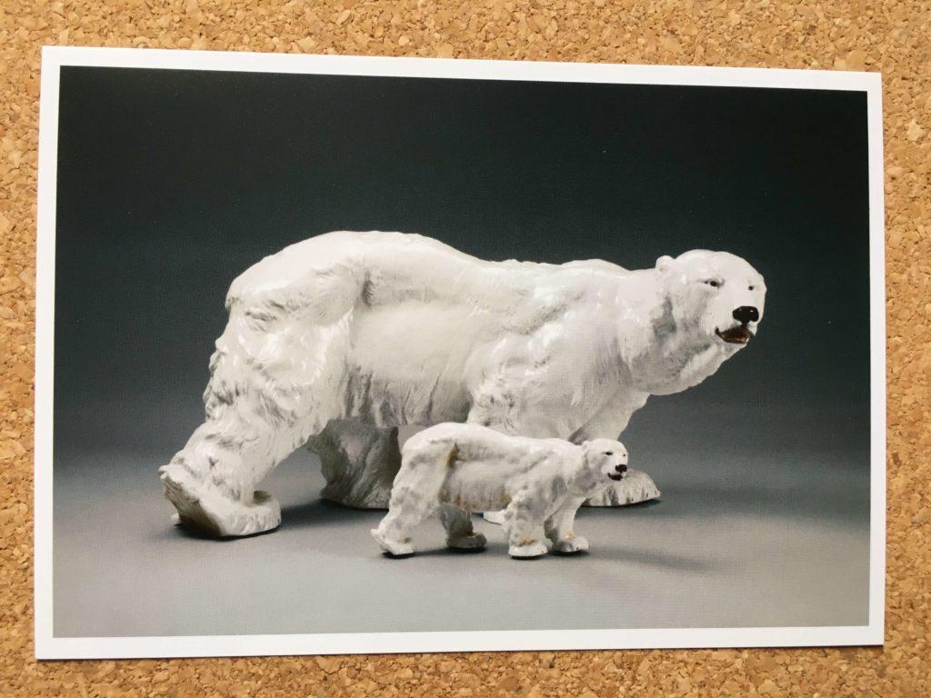 マイセン動物園展のクリアファイル