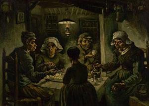 フィンセント・ファン・ゴッホ『ジャガイモを食べる人々』
