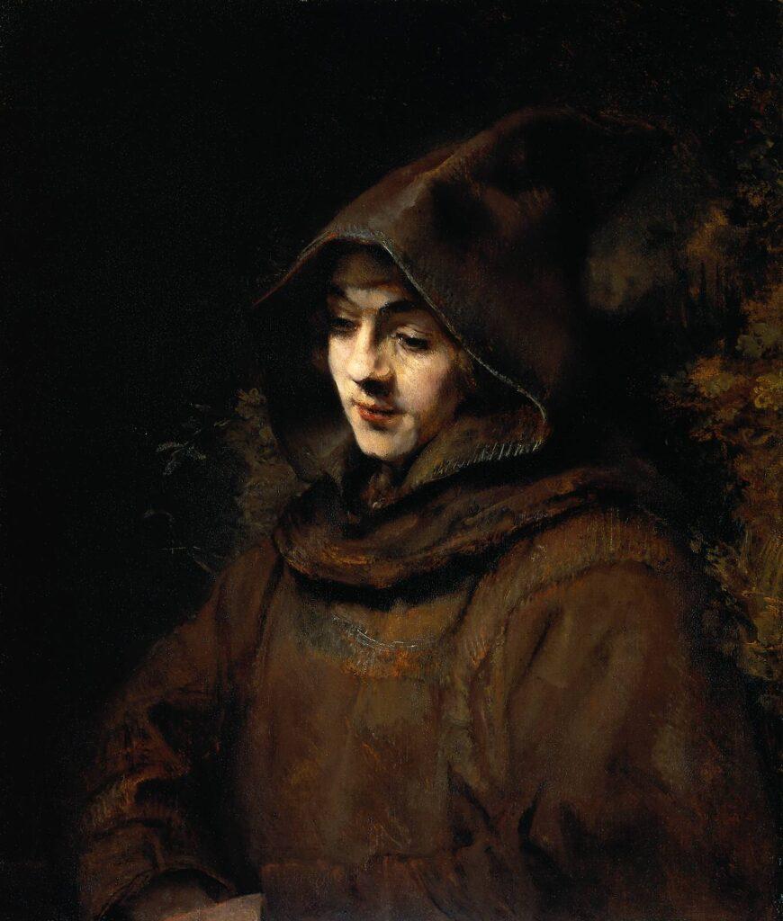 レンブラントの息子の肖像画